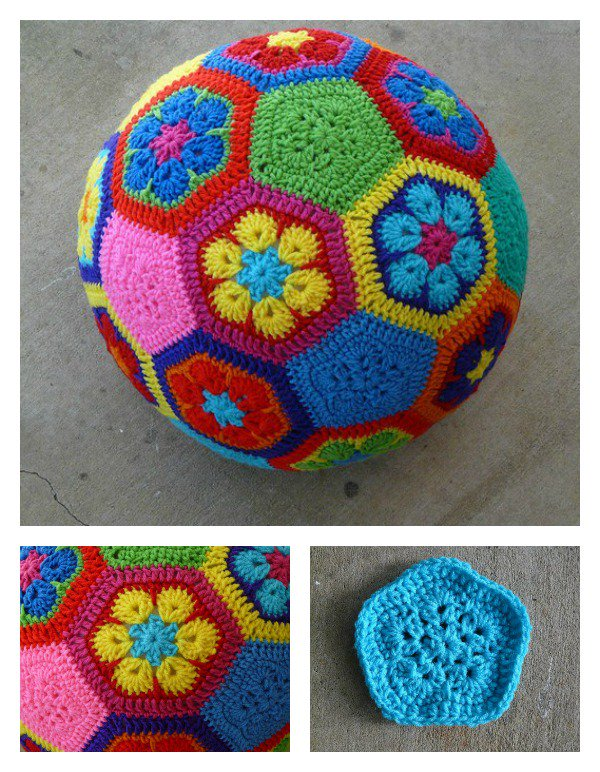 African-Flower-Soccer-Ball-Free-Crochet-Pattern