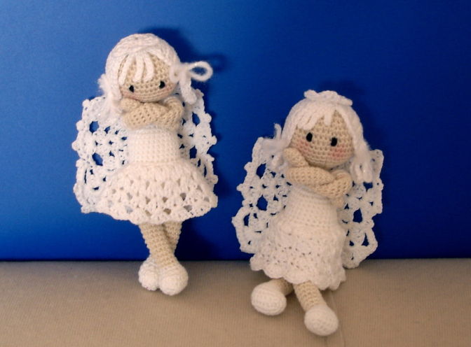 Christmas Crochet Angel Ornament Free Patterns Beesdiy