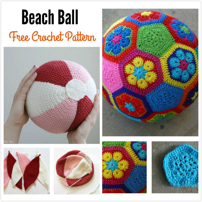 Crochet Amigurumi Ball Free Pattern