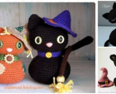 Crochet-Amigurumi-Halloween-Black-Cat-Pattern-FREE