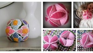 Crochet Amish Puzzle Ball (Free-Pattern)
