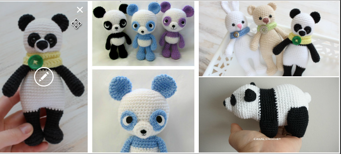 Panda Bear Free Pattern Amigurumi to Crochet ⋆ Crochet Kingdom | 317x700