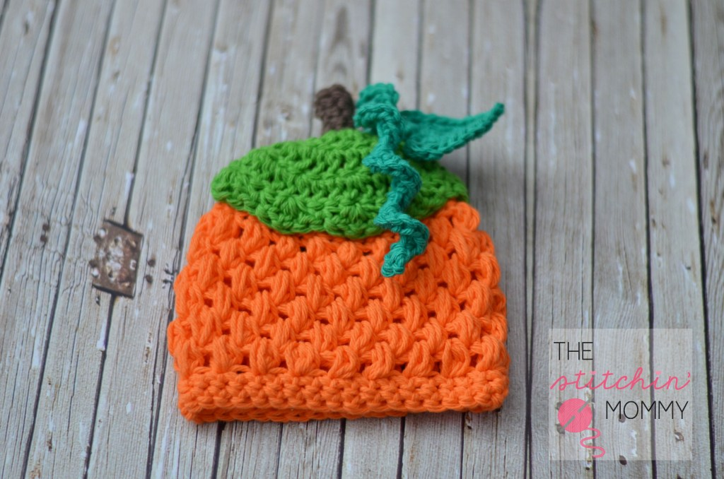 Free Patterns Crochet For Hats : Crochet Pumpkin Hat for Baby (FREE Patterns) BeesDIY.com