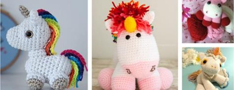 Crochet Unicorn Free Patterns ( Super Cute )