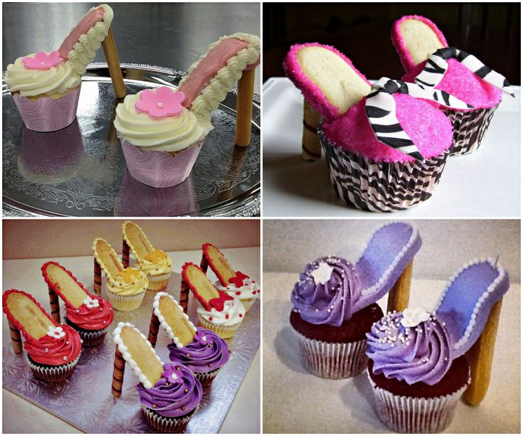 How to DIY Beautiful High Heel Cupcakes