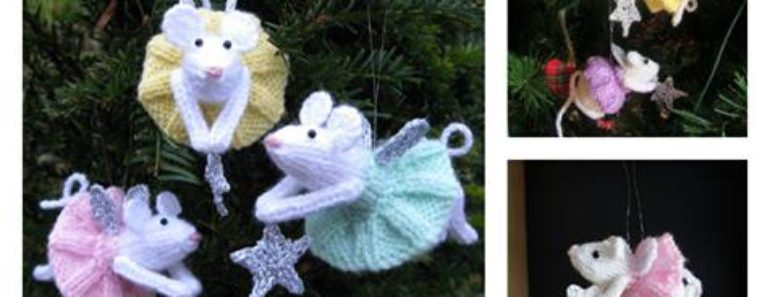 Knitting Furry Fairies Christmas Ornament Pattern Free Beesdiy