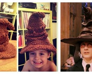 Harry Potter Sorting Hat Free Crochet Pattern