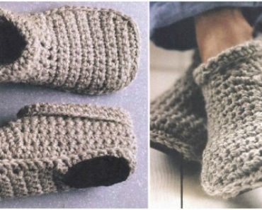 Cozy Crochet Slipper Boots Free Pattern