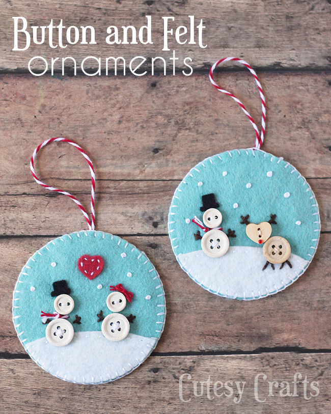 10 Easiest DIY Christmas Button Craft Ideas