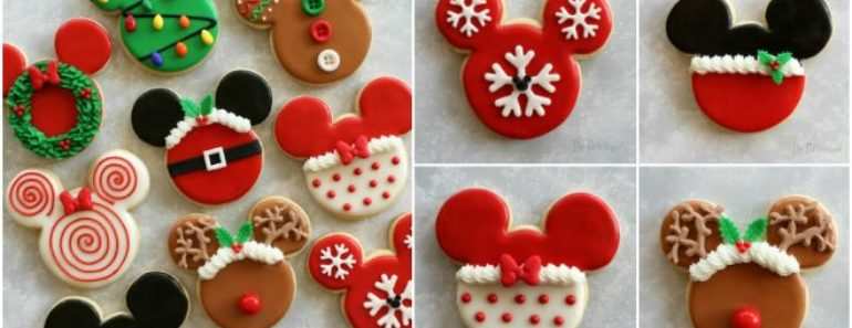 DIY Disney Themed Christmas Cookies