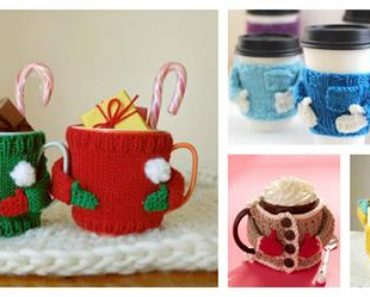 Knitted Mug Cozy Sweater Patterns