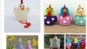 Adorable Easter Crochet Chicken Free Patterns