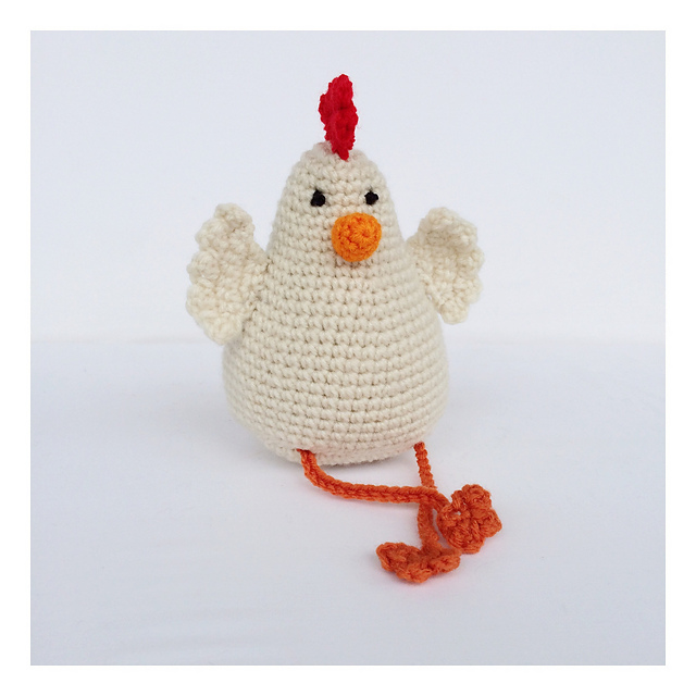 Adorable Easter Crochet Chicken Free Patterns Beesdiy