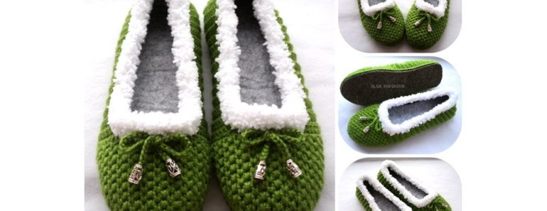Cozy Crochet House Slippers (Video Tutorial)