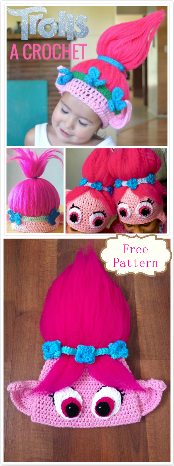 Trolls Crochet Pattern Cool Design Inspiration