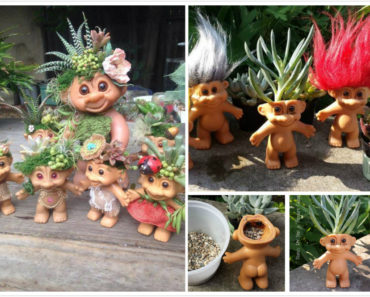 How to DIY Troll Doll Planters